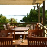 HMF- tables extérieures vue mer 2